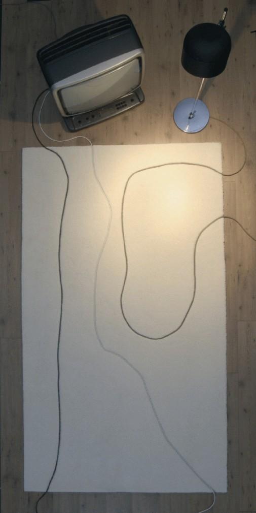 Tepih koje pretvara kablove u umetnička dela