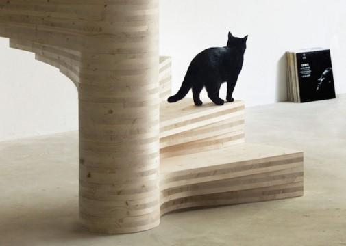 Drvene spiralne stepenice 5