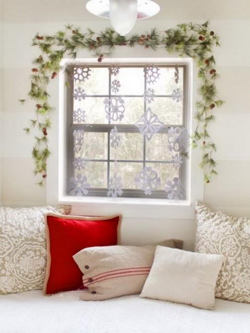 Nemojte zaboraviti novogodišnju dekoraciju prozora