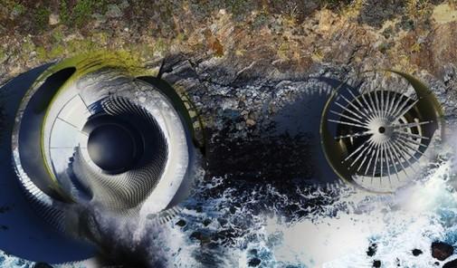 Hidroelektrična plimska kuća