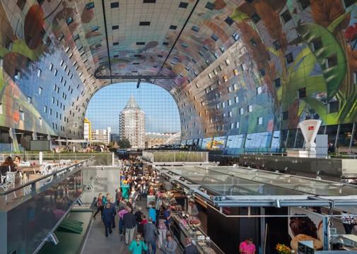 Veličanstvena pijaca u Roterdamu