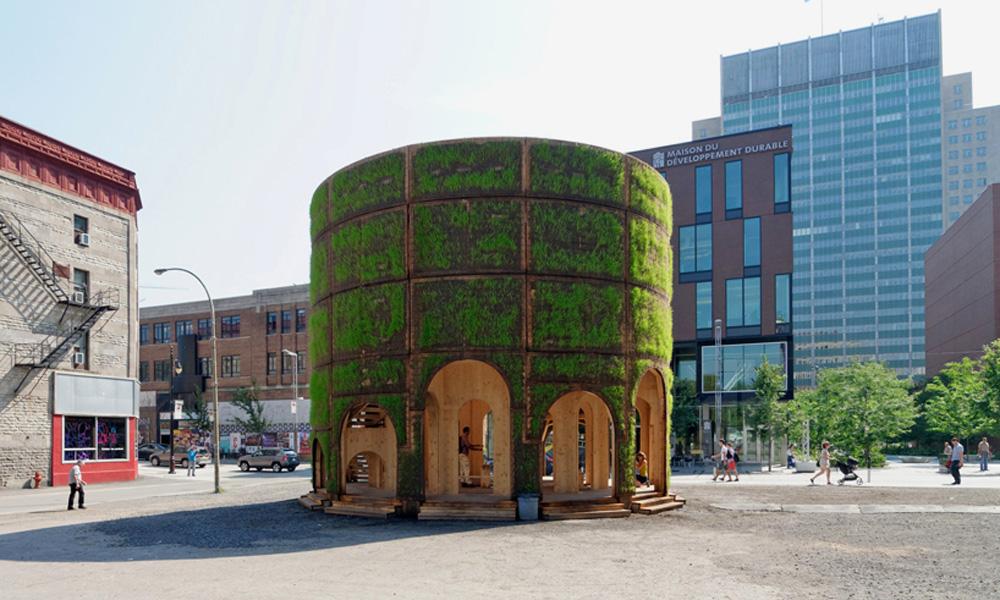 Neobičan paviljon za česmu u Montrealu