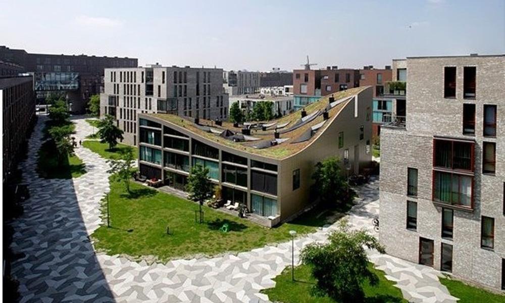 Neobičan stambeni blok u Amsterdamu