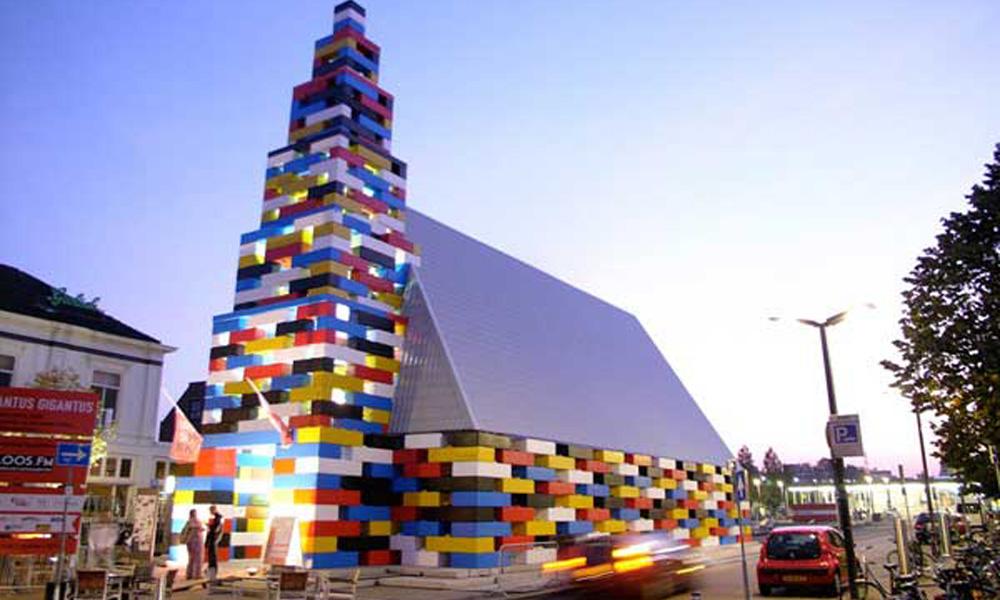 Privremeni paviljon za modernu umentost u Holandiji