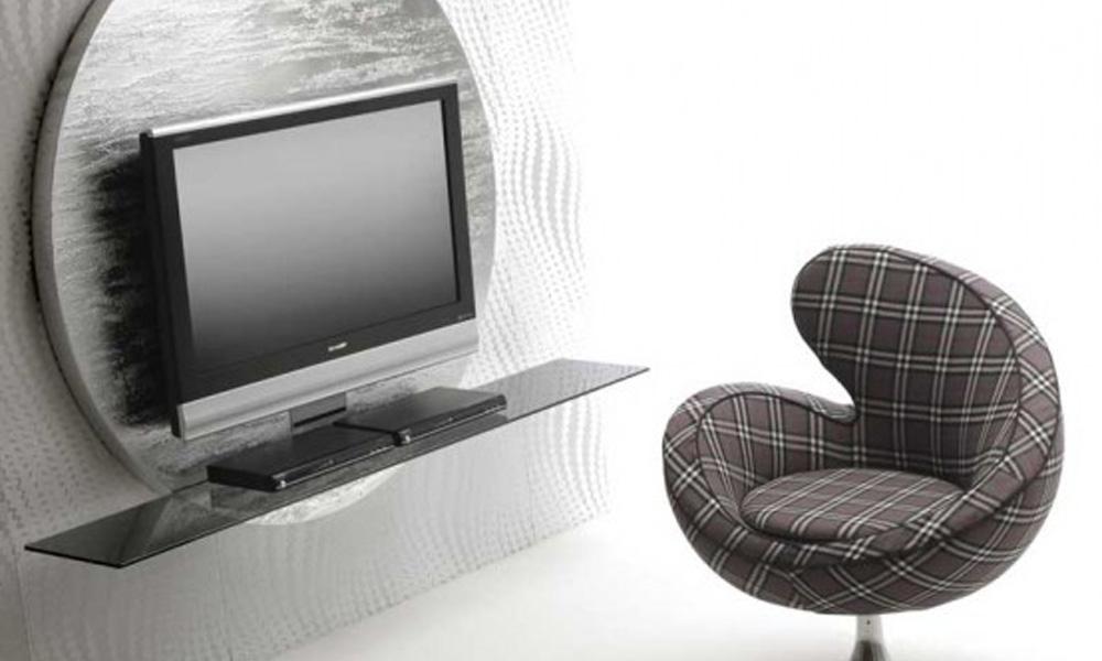 Savremene crno-bele TV komode prefinjenog dizajna