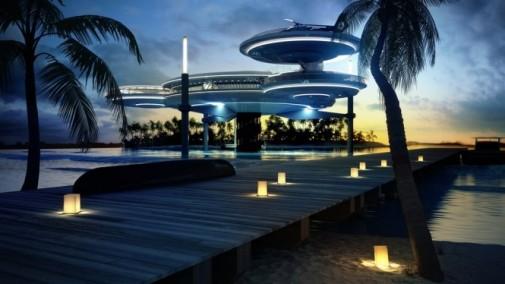 Neverovatan podvodni hotel