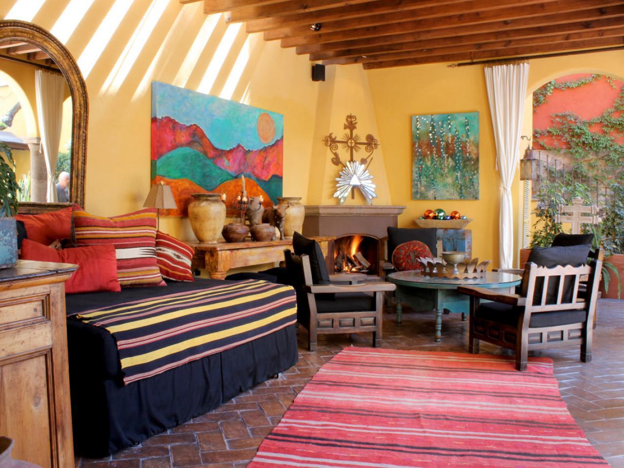 Meksi ki stil osve avaju a ose ajnost bravacasa magazin for Spanish inspired living room