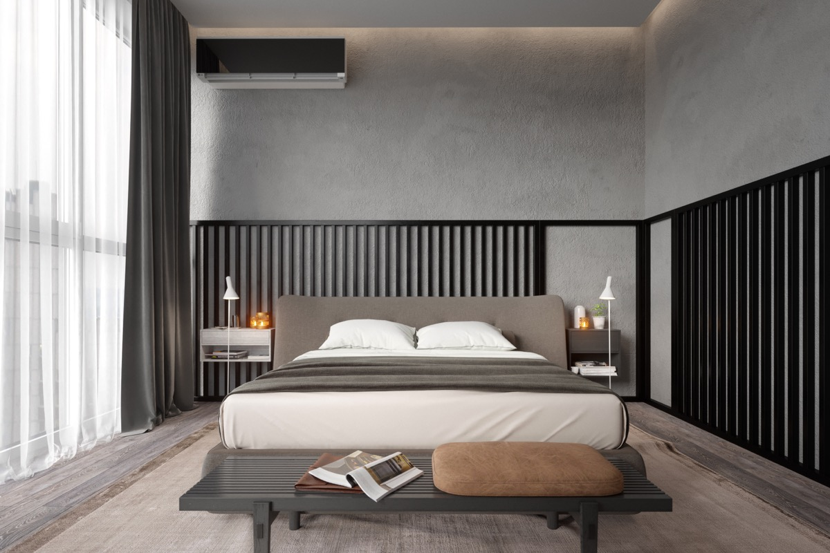 bedroom-accent-wall-black-bars