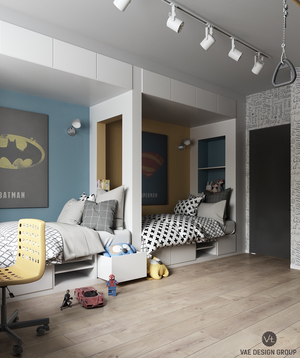 comic-book-decor-for-kids-bedroom