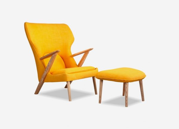 mustard-wingback-with-ottoman-reading-chairs-for-sale-600x432