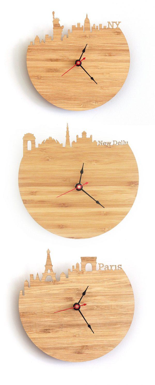 new-york-new-delhi-paris-wooden-wall-clocks-uk-600x1493