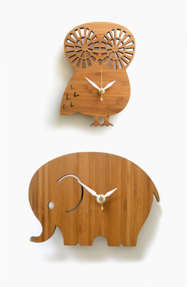 owl-and-elephant-childrens-wall-clocks-wooden-600x920
