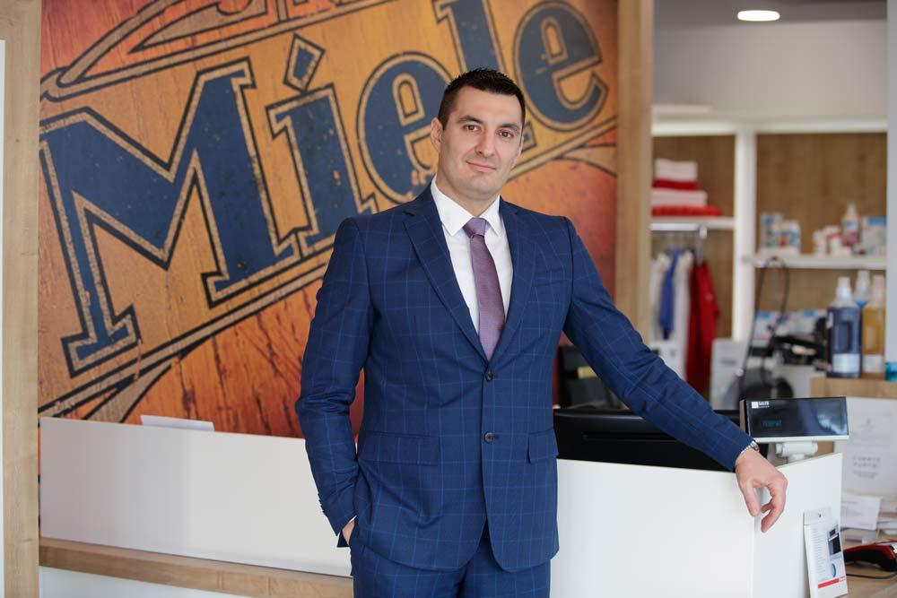 Zoran Đurić, generalni director kompanije Miele u Srbiji.